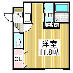 ハイツエタニティ[2階]の間取り