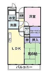 ベルコリーナ東戸塚[3階]の間取り
