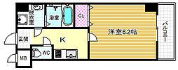 リエトコート福島[6階]の間取り