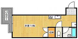 アクセス久留米[1階]の間取り