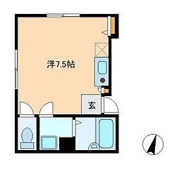 リヴィエレーヴ松戸[2階]の間取り