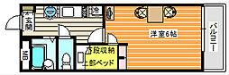 OKANO[207号室]の間取り