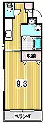ラフォーレ岡崎[302号室]の間取り