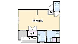 マンション津田[302号室]の間取り