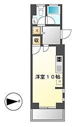 エンショウクワトロ[6階]の間取り