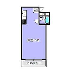 ひかりマンション[4階]の間取り