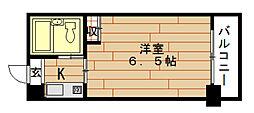 LeA・LeA九条53番館[10階]の間取り