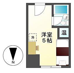 ライオンズ名古屋ビル[5階]の間取り