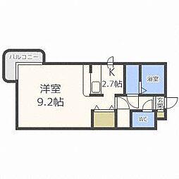 テラ元町[1階]の間取り