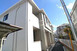 千葉県柏市永楽台1の賃貸アパートの外観