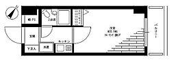 日神パレステージ横浜南[4階]の間取り
