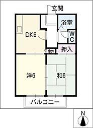 オルゴール[1階]の間取り