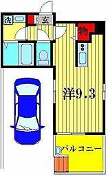 CREW HOUSE Higashi Matsudo[1階]の間取り