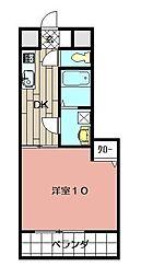 ナーセリーK2[103号室]の間取り
