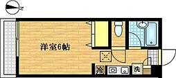 アーネスト鶴見[1階]の間取り