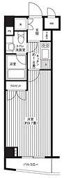 グランハイツ東新宿[3階]の間取り