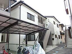 愛知県日進市赤池4丁目の賃貸アパートの外観