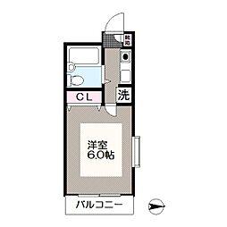 メゾンリッシュ葛西[2階]の間取り
