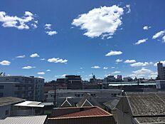 ルーフテラスからの眺望写真