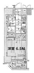 リーガル京町堀2[5階]の間取り