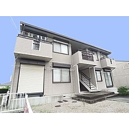 奈良県奈良市朱雀4丁目の賃貸アパートの外観