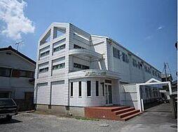 栃木県宇都宮市一ノ沢町の賃貸アパートの外観