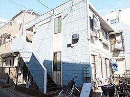 東京都江戸川区中葛西5の賃貸アパートの外観