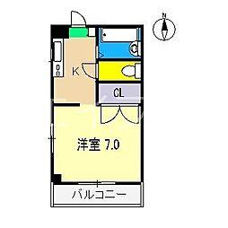 イマデン[2階]の間取り