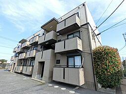 千葉県成田市公津の杜3丁目の賃貸アパートの外観