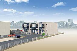 (仮)若松区東二島3丁目新築アパート[201号室]の外観