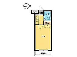 スカイコート多摩川第2[4階]の間取り