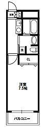 アスリート新大阪II番館[9階]の間取り