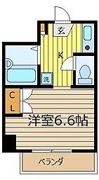 ポプルス志木[4階]の間取り