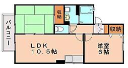セジュールTAKA[2階]の間取り
