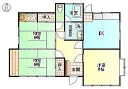 [一戸建] 静岡県富士市今泉 の賃貸【静岡県 / 富士市】の間取り