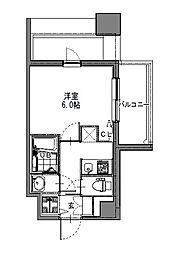 S-RESIDENCE新大阪Garden[5階]の間取り