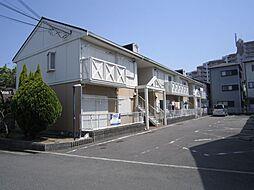 大阪府堺市東区日置荘西町5丁の賃貸アパートの外観