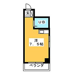 グローバル新瑞 502[5階]の間取り