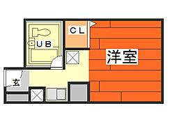 三田セントラルカーサ[4階]の間取り