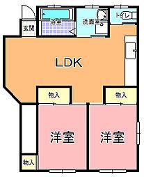 甲賀設計事務所2F[201号室]の間取り