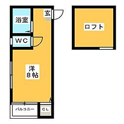 マキシム博多駅南III[2階]の間取り