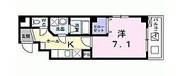 東京都足立区千住桜木2丁目の賃貸マンションの間取り