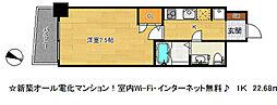 SERENITE三宮(セレニテサンノミヤ)[9階]の間取り