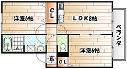 プラムONE長野[102号室]の間取り
