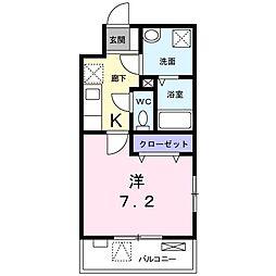 東京都練馬区氷川台2丁目の賃貸マンションの間取り
