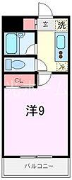 ソナーレアリサ[3階]の間取り