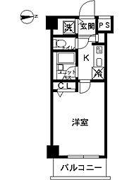 東京都板橋区坂下3丁目の賃貸マンションの間取り