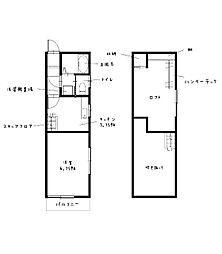 Regalia東小島 ~renovation apartment~ 1階1Kの間取り