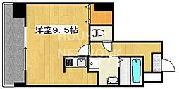アスヴェル京都四条[306号室号室]の間取り