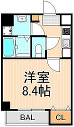 Terrace Asakusa[8階]の間取り